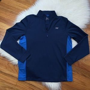Vineyard Vines 1/4 ZIP Performance Pull Over Shirt